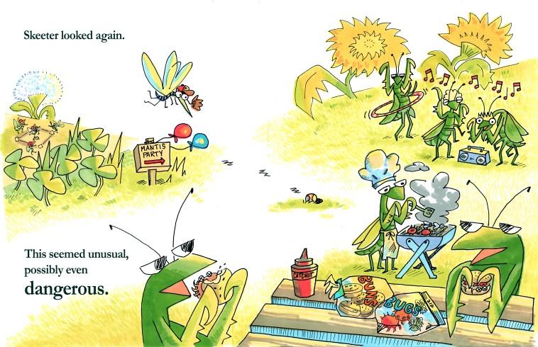 mantis party